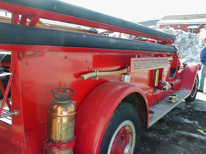 Placed in storage until 1983, put into service as a parade truck until 2003